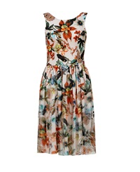 Maiocci Collection Backless Flare Dress Multi Coloured