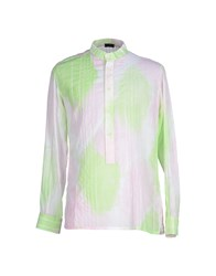 Yoon Shirts Shirts Men Light Green