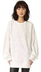 Ashish Swirly White Trash Sweatshirt