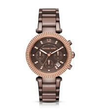Parker Pave Sable Tone Watch