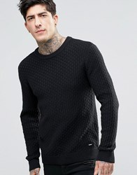 Dr. Denim Dr Scott Pearl Knit Jumper Black