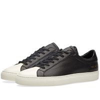 Common Projects Achilles Retro Cap Toe Black