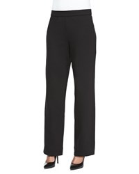 Joan Vass Full Length Jog Pants Black
