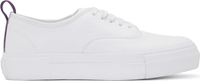 Eytys White Leather Platform Mother Sneakers
