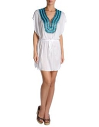 Milly Cabana Cover Ups White