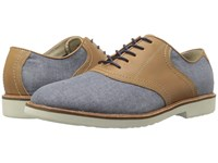 Simple Impulse 1 Navy Linen Tan Waxy Milled Men's Shoes