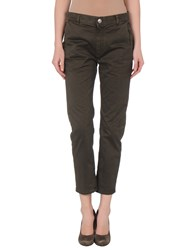 M.Grifoni Denim Trousers 3 4 Length Trousers Women Grey