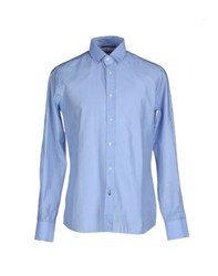 Guess By Marciano Shirts Shirts Men Sky Blue