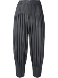 Issey Miyake Pleats Please By Pleated Harem Pants Grey