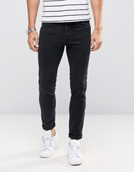 Sisley Jeans In Skinny Fit With Stretch Black 700