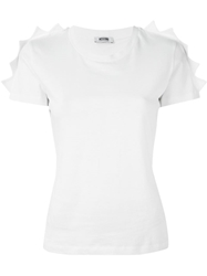 Moschino Cheap And Chic Jagged Shoulder T Shirt
