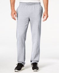 Champion Men's Fleece Powerblend Pants Oxford Gray