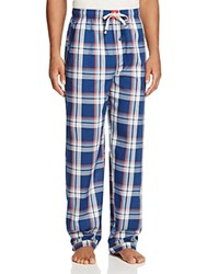 Psycho Bunny Woven Lounge Pants Navy Plaid