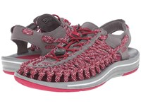 Keen Uneek Flat Sangria Camo Women's Shoes Red