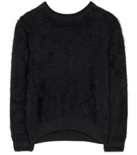 Tom Ford Angora And Silk Blend Sweater Black