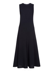Raey Pocket Wool Crepe Maxi Dress