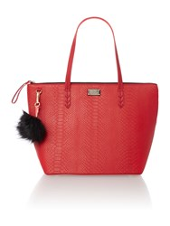 Paul's Boutique The Limehouse Collection Red Tote Red