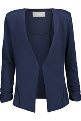Tart Collections Olga Stretch Jersey Blazer Storm Blue