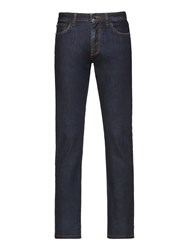 Ermenegildo Zegna Blue Stretch Cotton Jeans