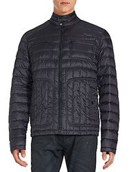 Hawke And Co Long Sleeve Puffer Jacket Carbon