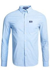 Superdry Shoreditch Button Down Shirt Electric Blue
