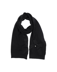 Scee By Twin Set Stoles Black