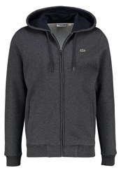Lacoste Tracksuit Top Dark Grey Mottled Anthracite