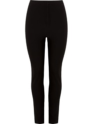Osklen High Waisted Slim Trousers Black