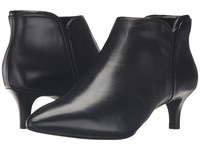 Rockport Total Motion Kalila Bootie Black Leather Women's Boots