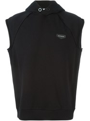 Givenchy Sleeveless Hoodie Black