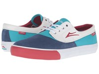 Lakai Camby X Workaholics Party Time Suede Men's Skate Shoes Multi