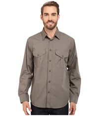 Filson's Feather Cloth Shirt Olive Men's Clothing
