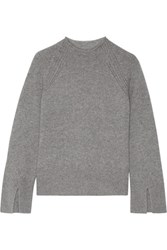 Theory Karinella Cashmere Sweater Gray