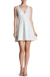 Women's Dress The Population 'Carrie' Sequin Fit And Flare Minidress