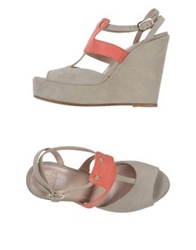 Scee By Twin Set Sandals Beige