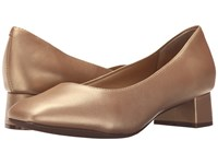 Trotters Lola Goldwash Dress Kid Leather Women's 1 2 Inch Heel Shoes