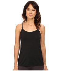 Yummie Tummie Cassidy Micro Modal Convertible Shelf Camisole Black Women's Sleeveless