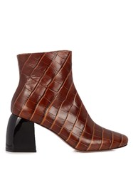 Sportmax Sibari Ankle Boots Brown