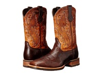 Ariat Quickdraw Thunder Brown Two Tone Tan Cowboy Boots