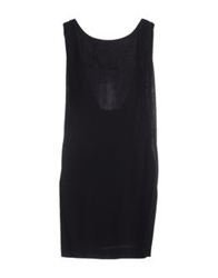 Tonello Short Dresses Black