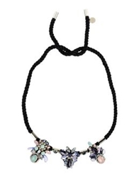 Matthew Williamson Necklaces Black