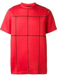 Christopher Kane Stitched Seam Sweatshirt Red