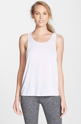 Women's Solow Brushed Jersey Tank White