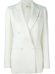 Ports 1961 Panama Double Breasted Jacket Nude And Neutrals