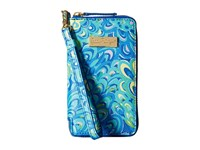 Lilly Pulitzer Tiki Palm Iphone 6 Sea Blue Lillys Lagoon Cell Phone Case