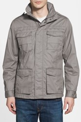 Jeremiah 'Thornton' Twill Utility Jacket Gray