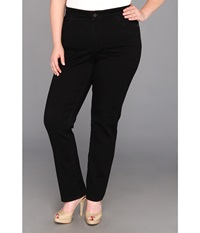 Nydj Plus Size Plus Size Janice Legging Super Stretch Denim Black Women's Jeans