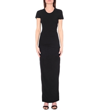 James Perse Cotton Jersey Maxi Dress Black