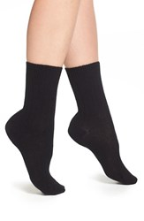 Women's Pantherella 'Tabitha' Cashmere Blend Ankle Socks Black