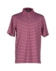 Peter Millar Topwear Polo Shirts Men Garnet